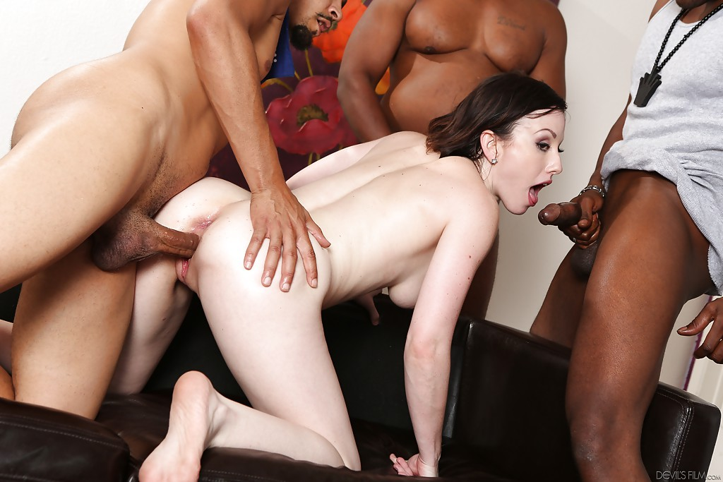 White wives fucked black