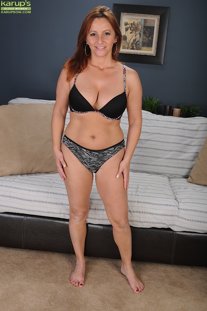 Mature In Tight Panties