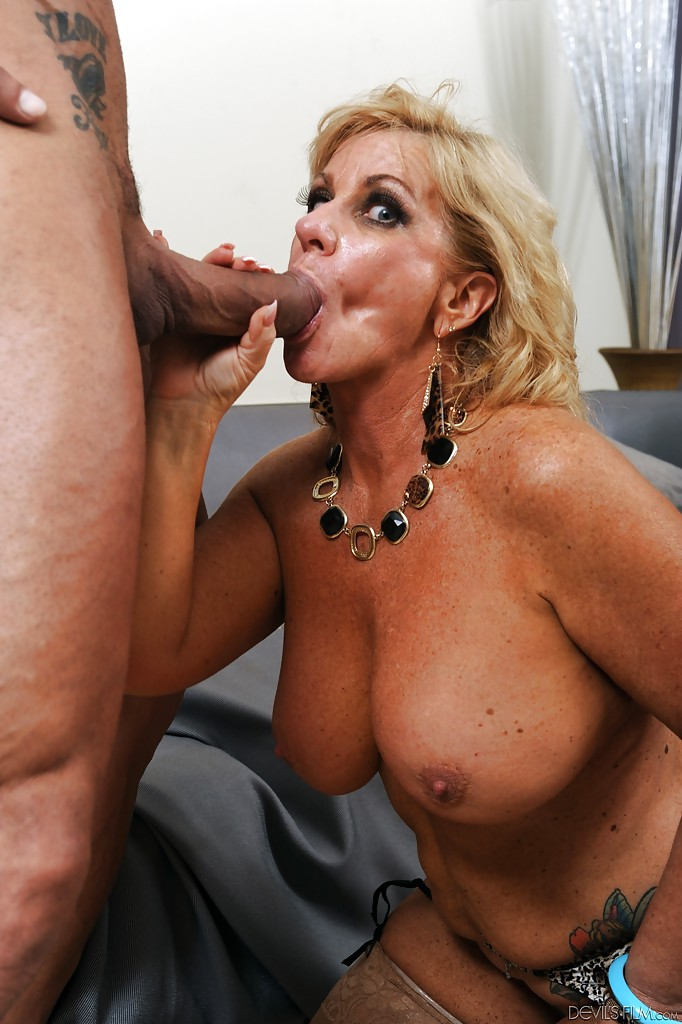 Mature Wife Takes Big Cock