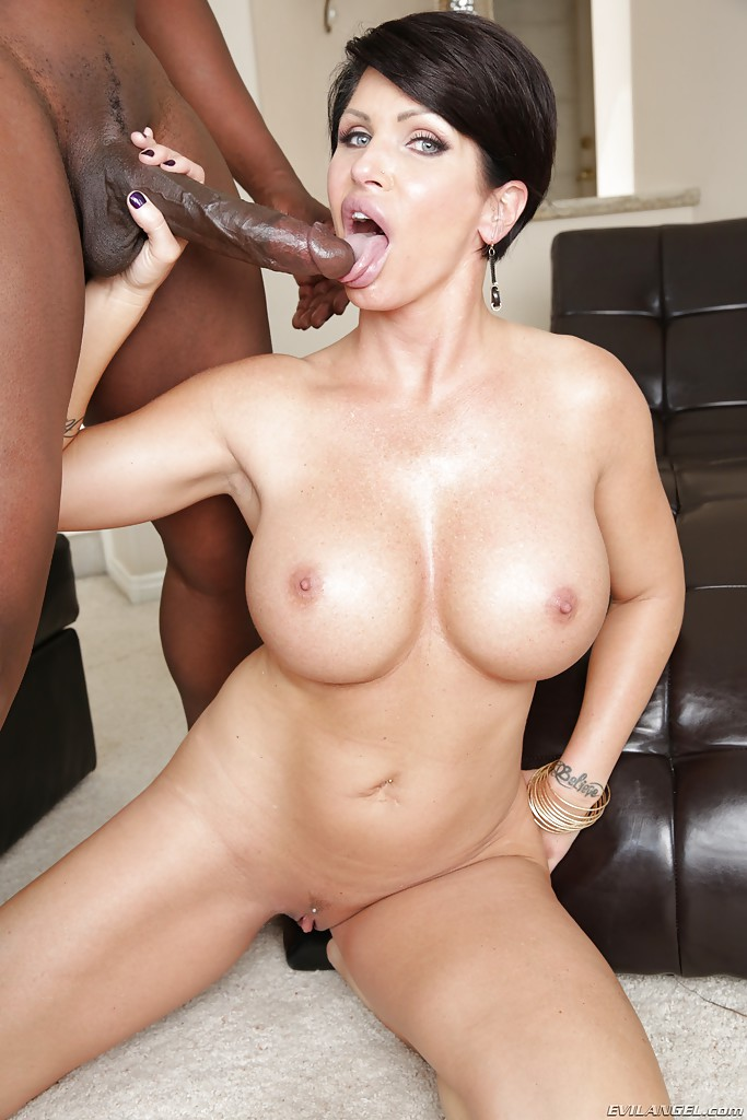 Interracial big cock porn