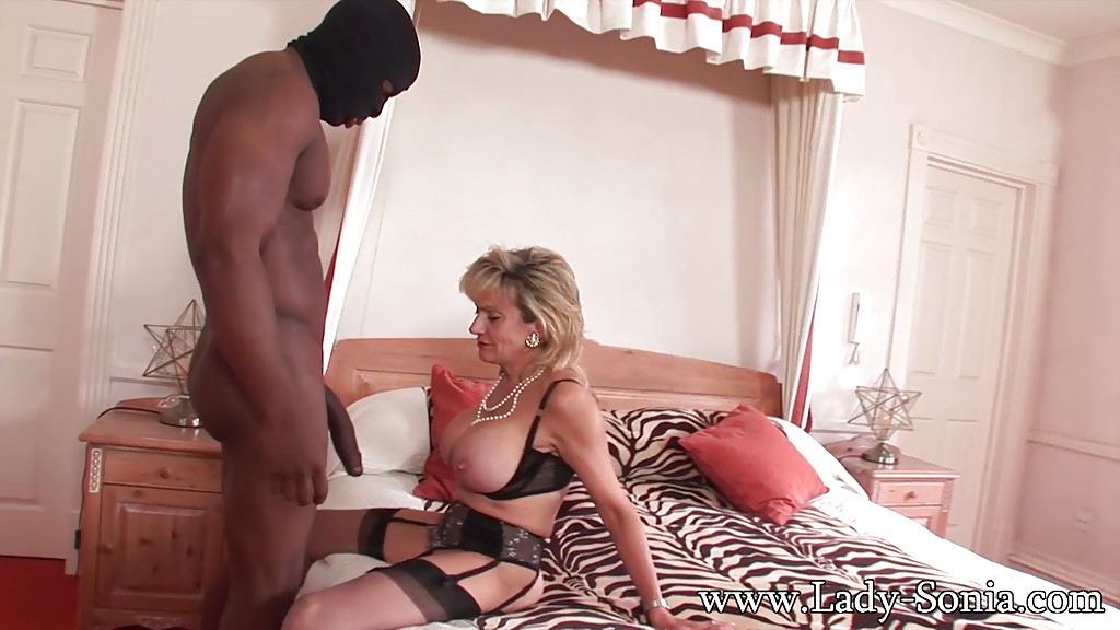 Interracial mature lady