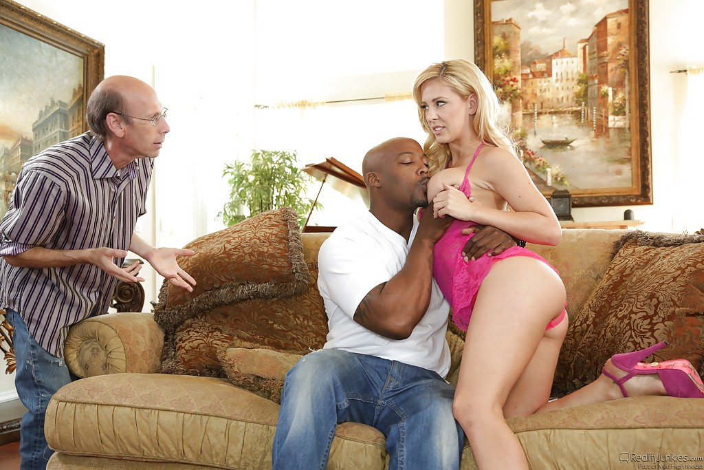 Interracial threesome husband wife story