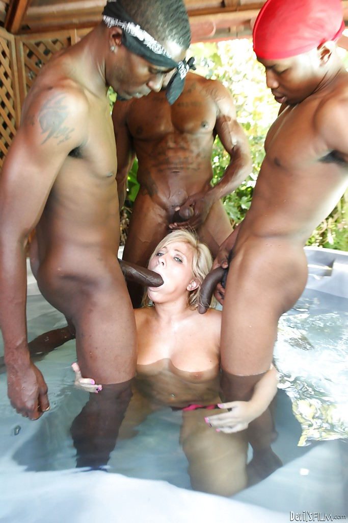 Join Mad Poolside Gangbang