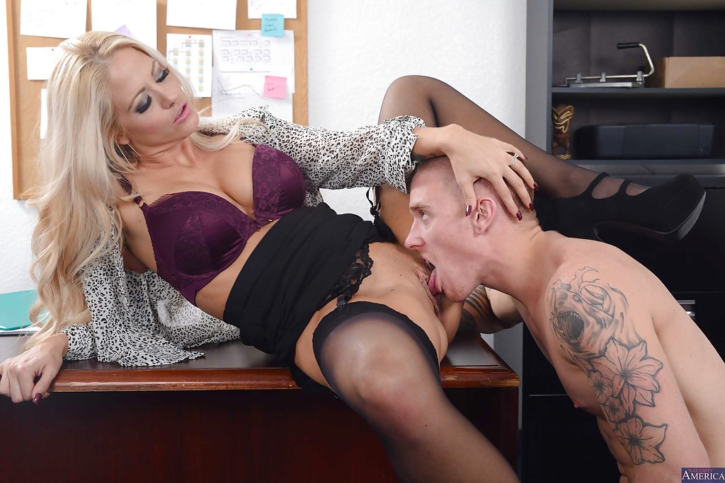 holly extreme naughty office - ... Splendid office MILF Holly gives wet blowjob and takes cumshot ...