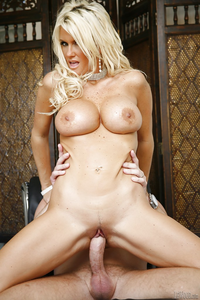 Super Hot Blonde Big Tits