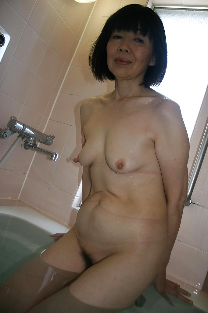 Agree with mature asian woman posing