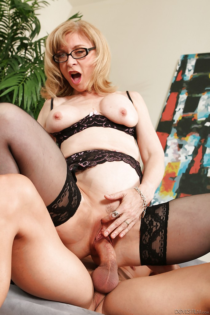 Devotion Nina hartley big tits has one