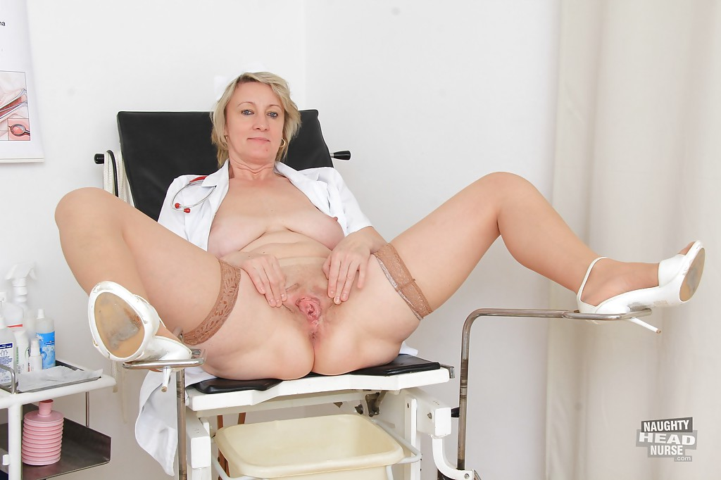 Naughty nurse treats random boner syndrome 9