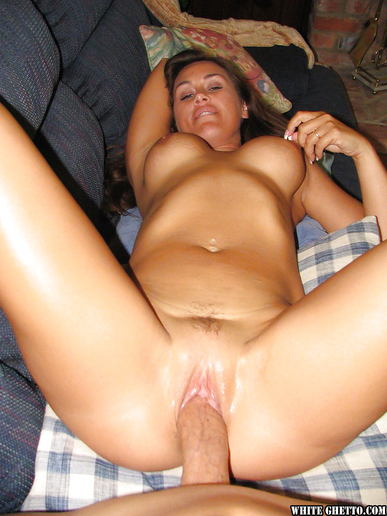 Hot wife giving great blowjob