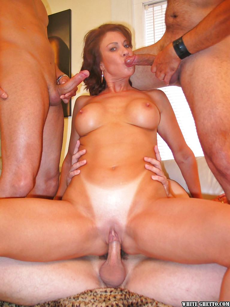 Big tits group sex