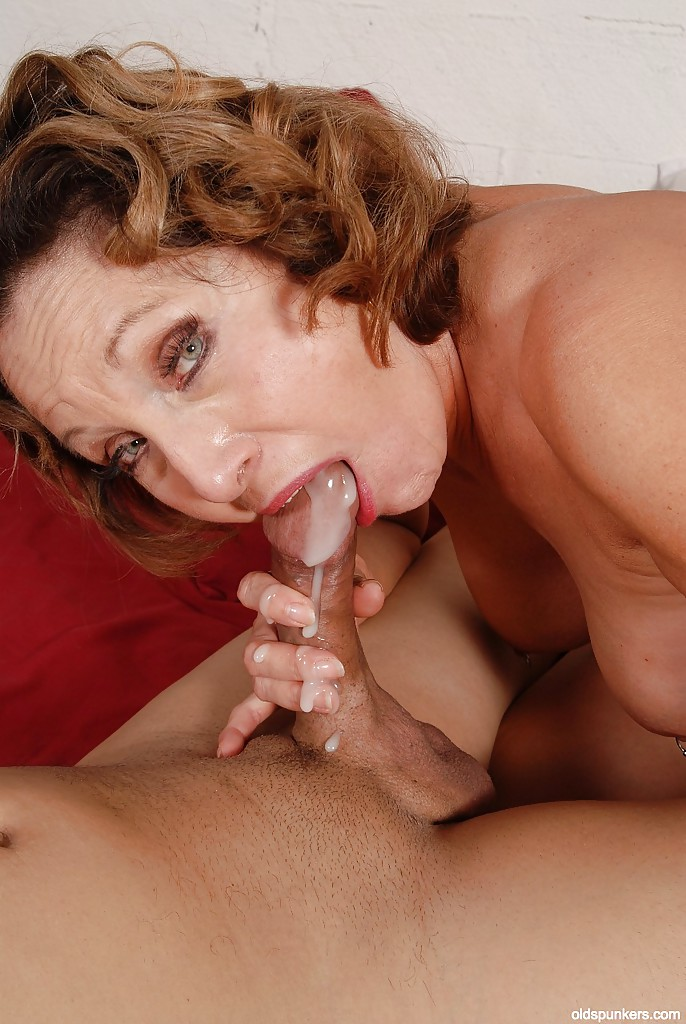 cum load in mouth