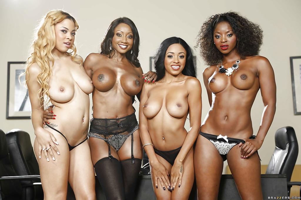 Nude ebony group girls opinion