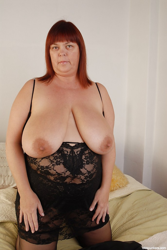 Big fat mature tit