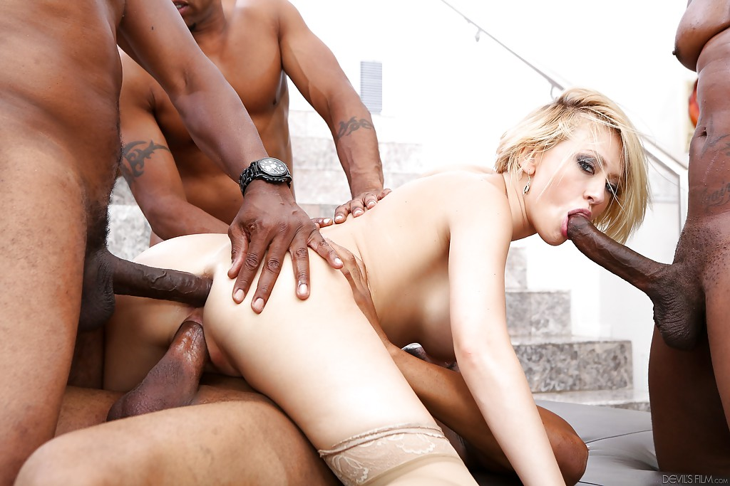 Xxx interracial gang bang, hardcore bareback bear sex videos