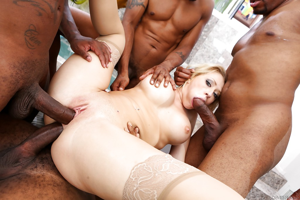 Black by cock impregnated wife