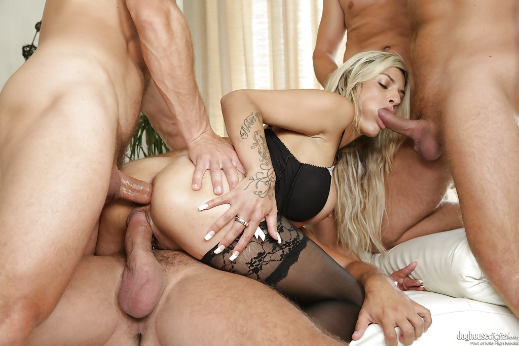 Join told gorgeous blonde gangbang opinion