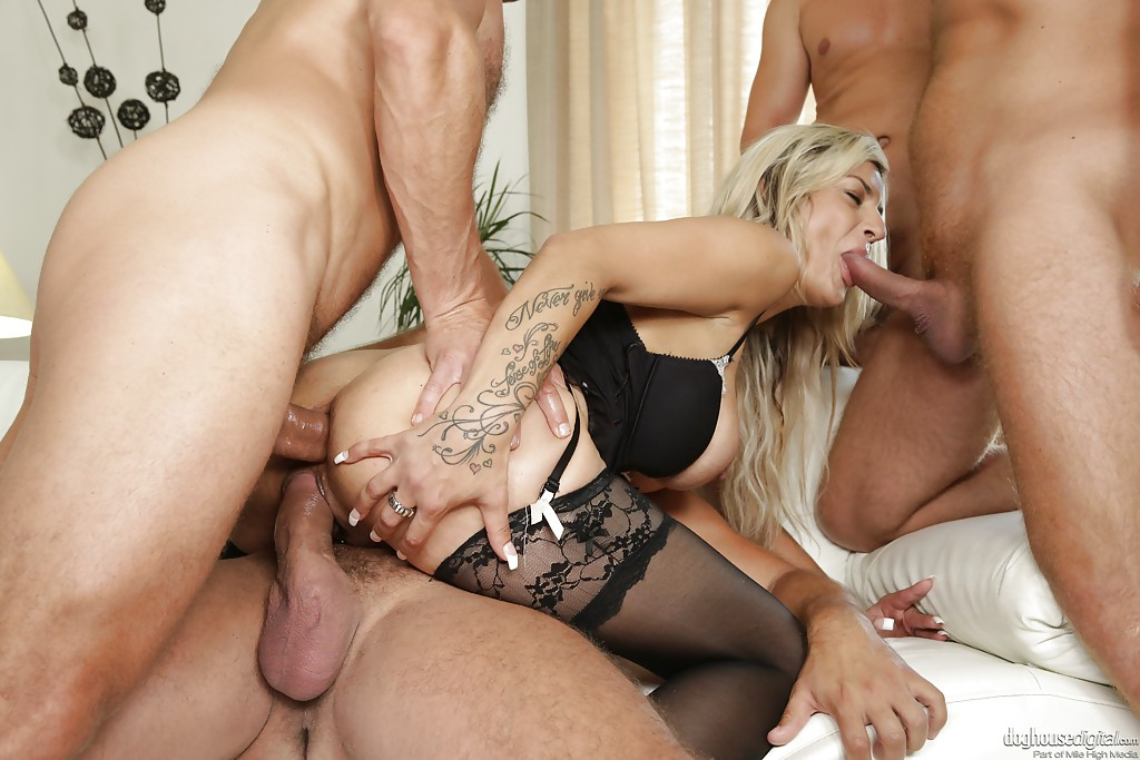 Think, that gorgeous blonde gangbang opinion
