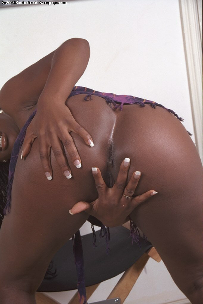 Stunning black ass on camille amore 2