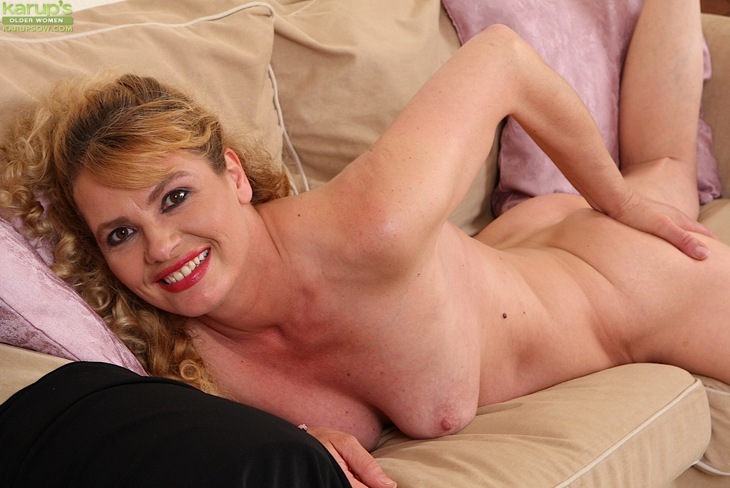 from Damon large mature woman playing with her cookie