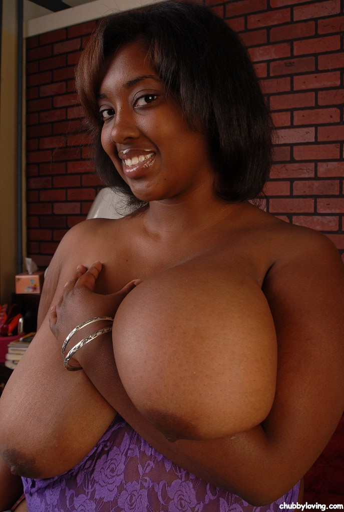 Chubby Ebony Boobs