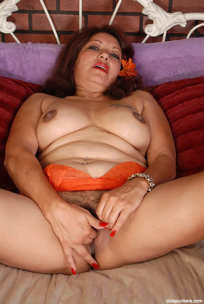 chunky mexican hairy naked milf