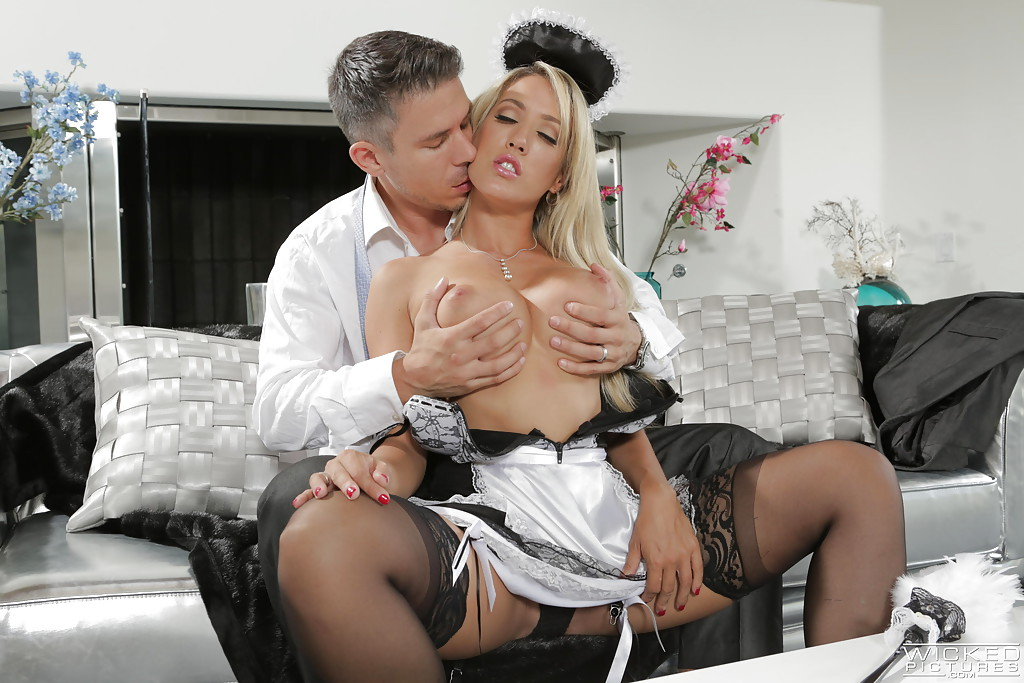 Boss fucking his maids