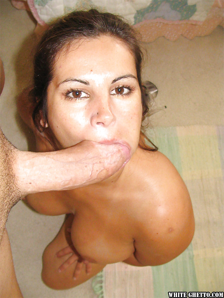 Mature deep blowjob