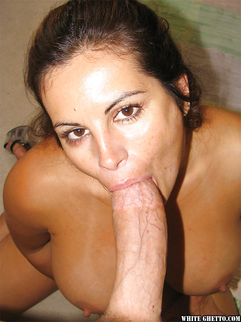 shaved mature brunette