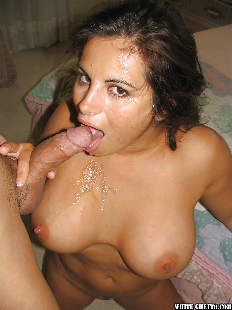 mature brunette friday is giving a deep hardcore blowjob