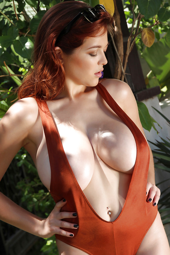 Big breasted redheads