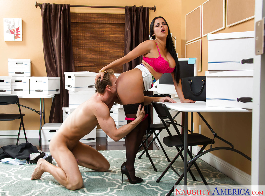 Hot! latina office blowjob love