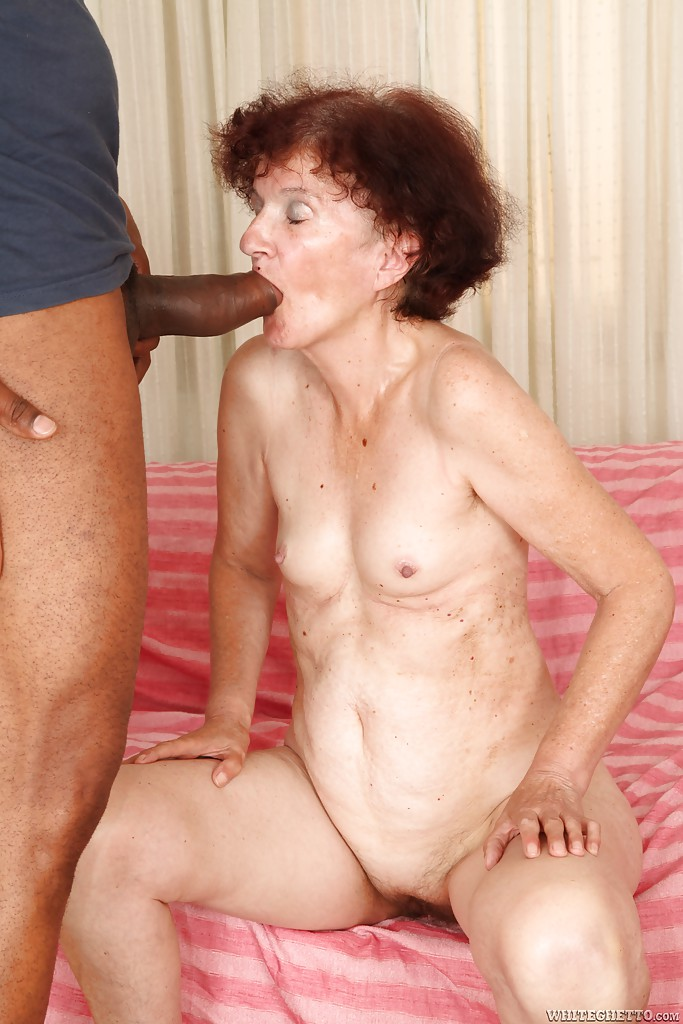 Granma sucks and fucks two cocks at job interview - 1 part 8