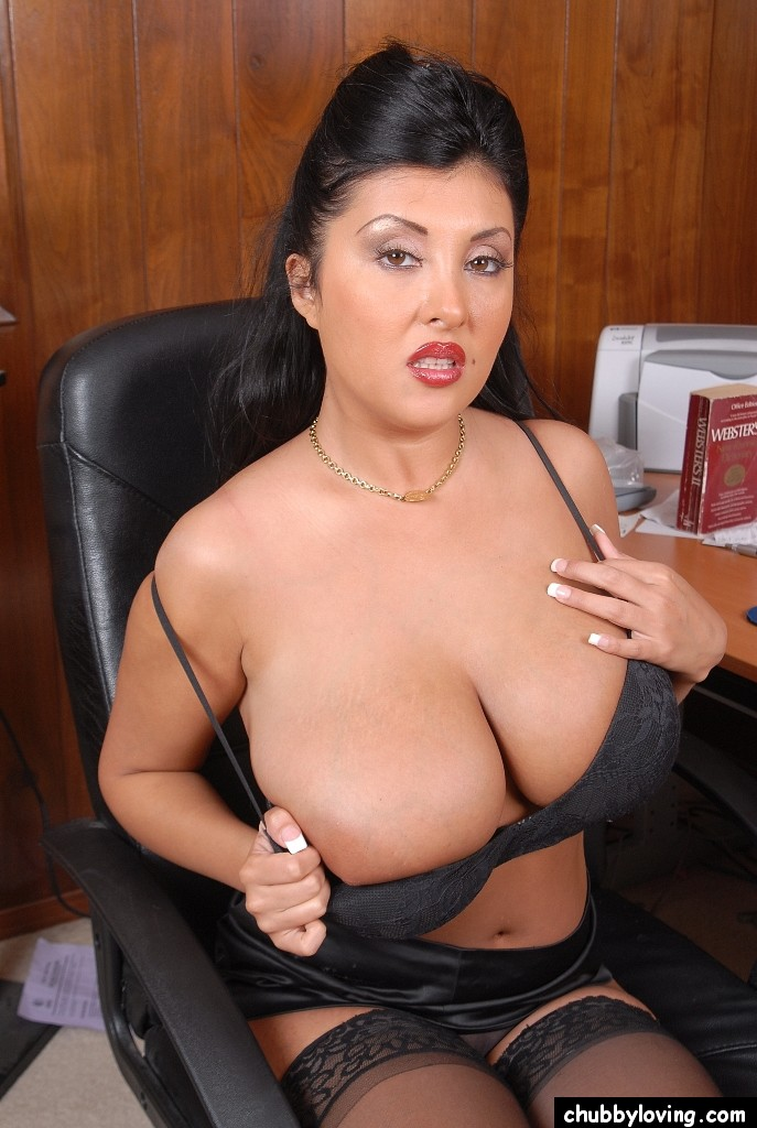 Asian mature doctor secretary