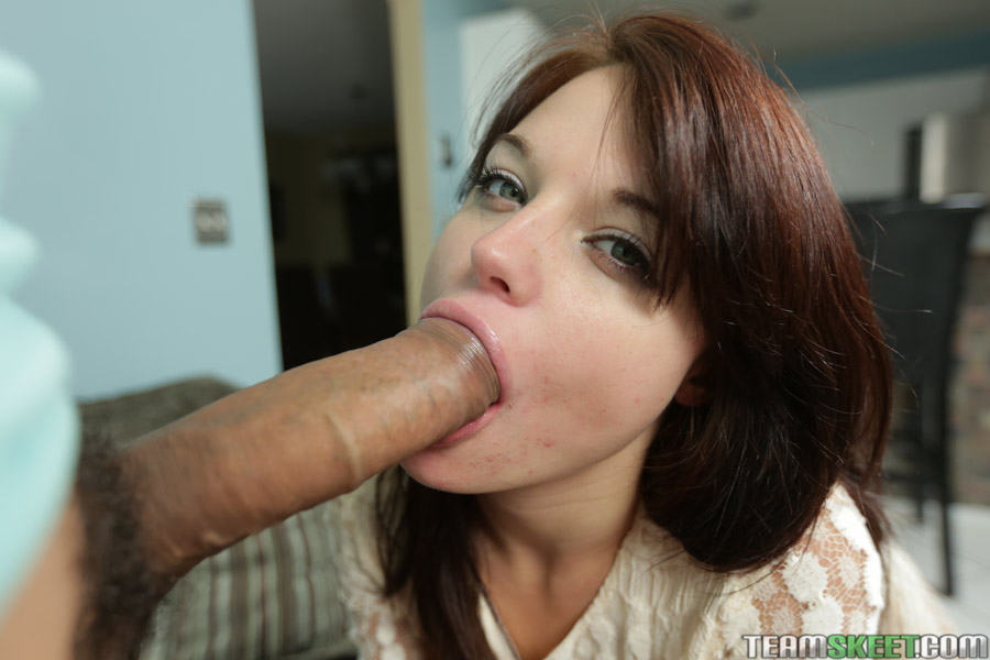 sucking cock and swallowing