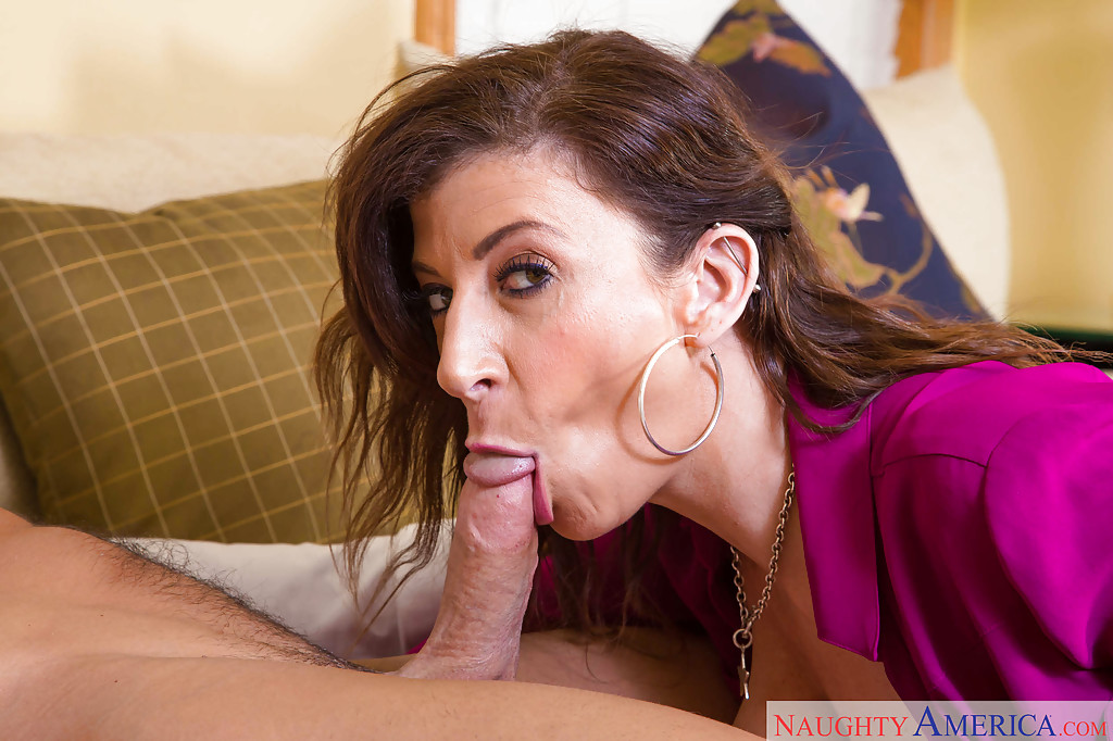 Milf cum mouth