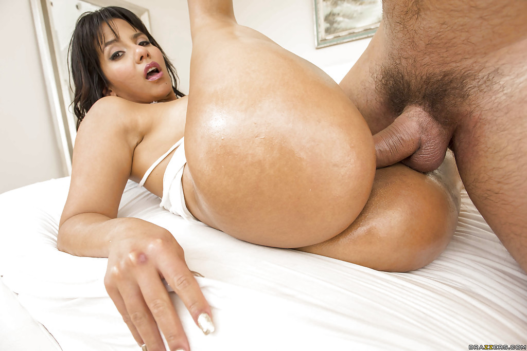 Bubble butt latina anal
