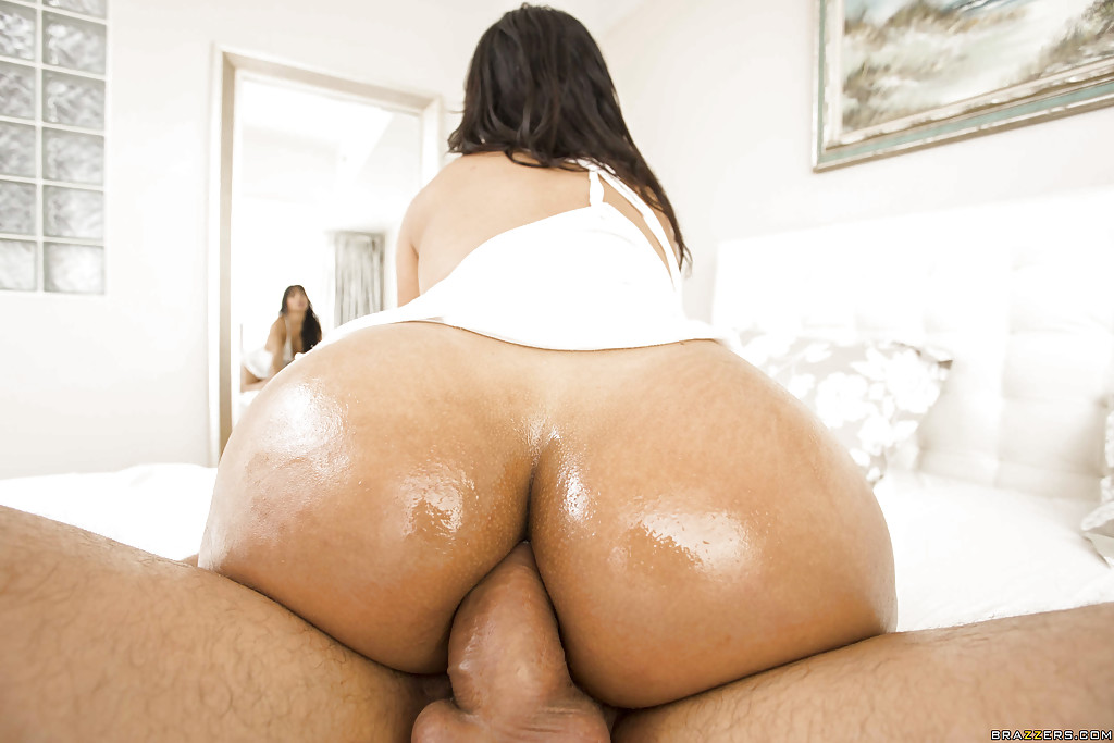 Big Latina Oiled Ass
