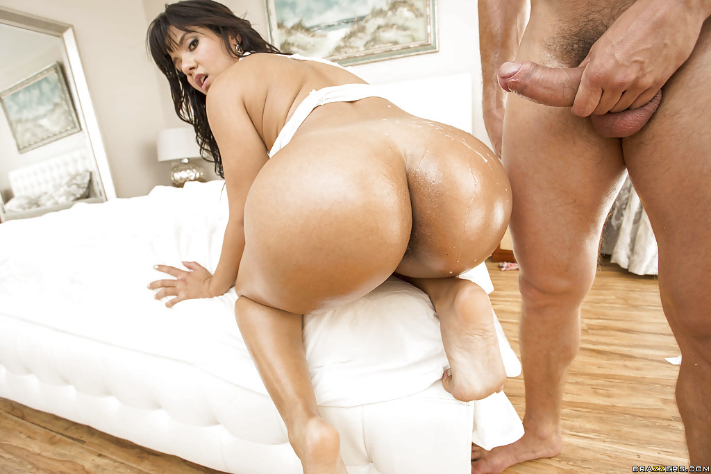 Latina Getting Fucked In The Ass