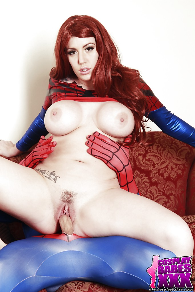 Naked mary jane cosplay