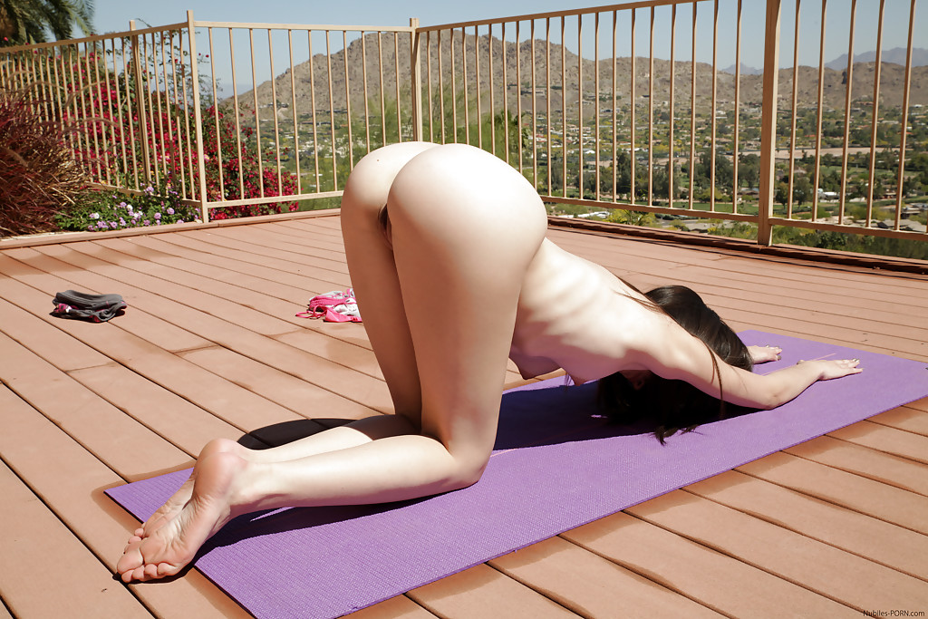 Fucked doing yoga getting naked woman