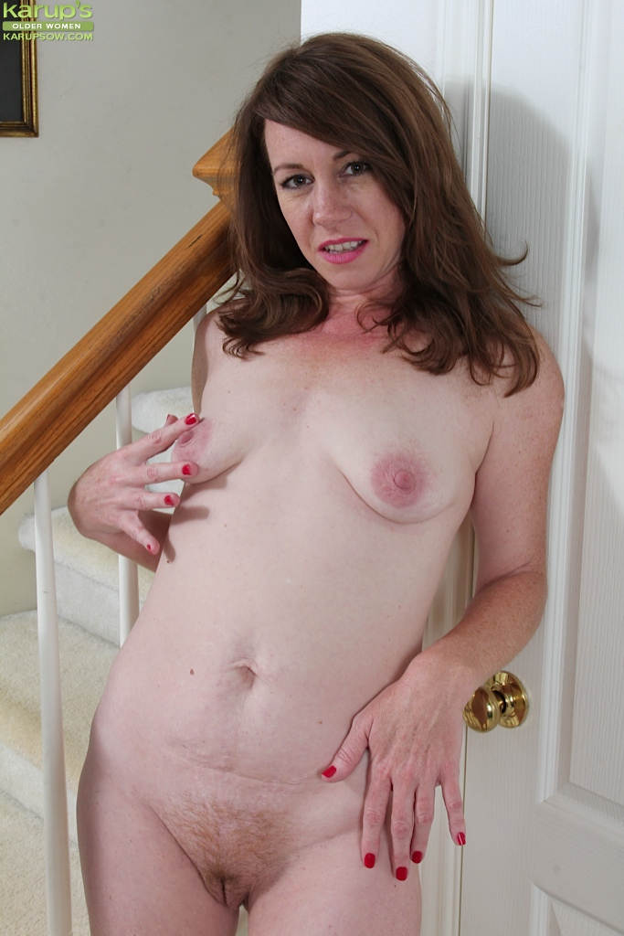 Chubby mature boobs