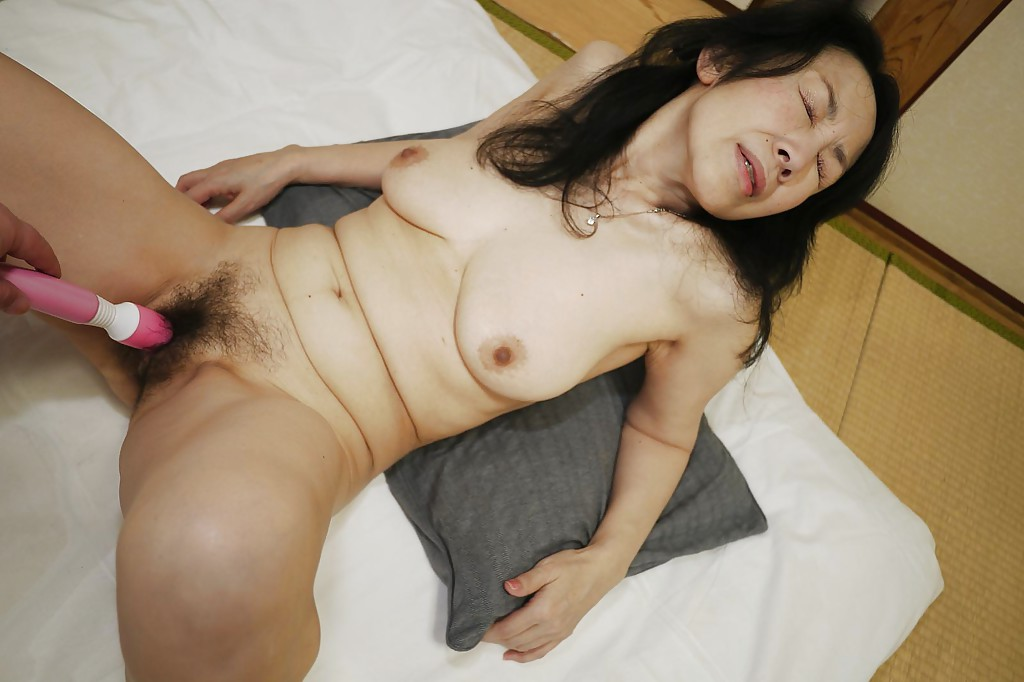 Japanese big wife horny gangbang 3
