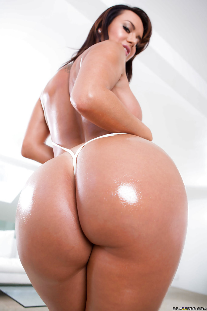 Big booty oiled ass