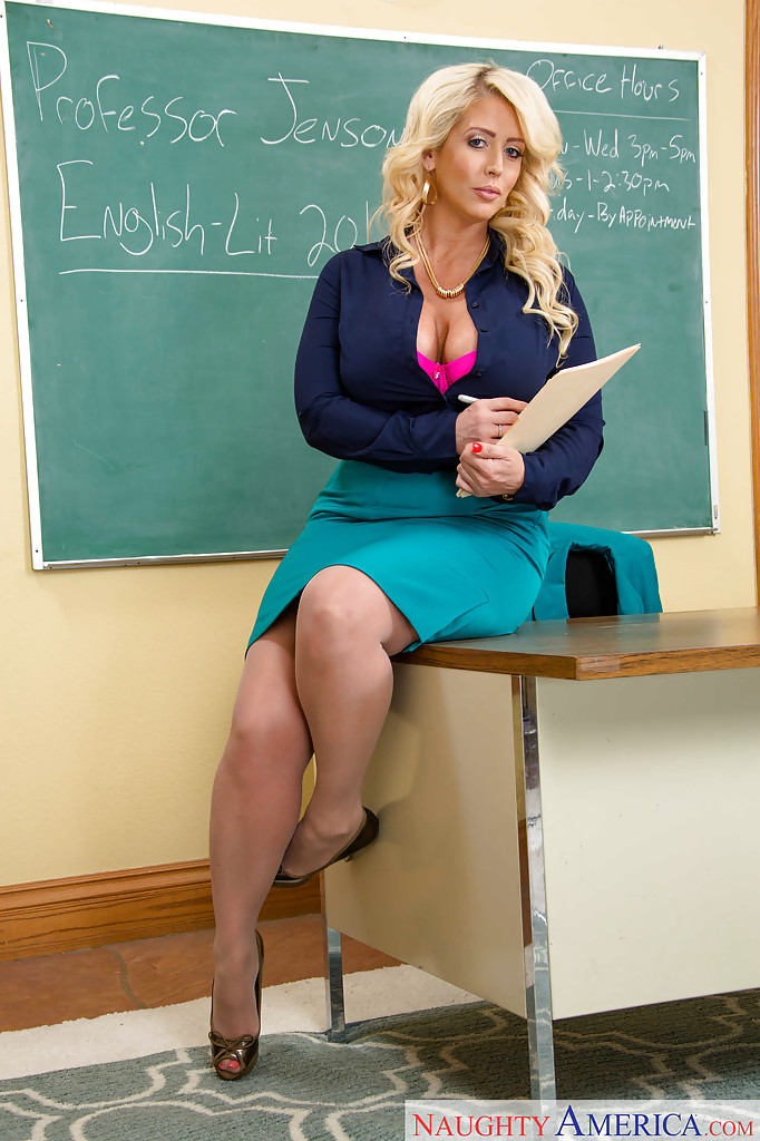 Alura jenson in teaching a christian church boy some lessons 7