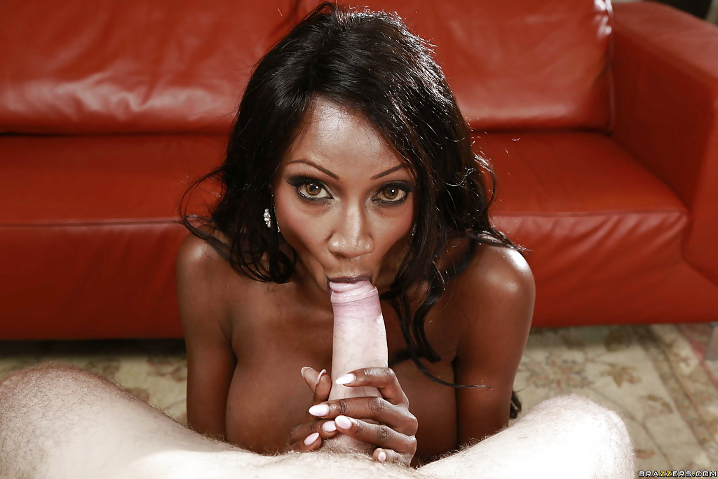 ebony woman blowjob