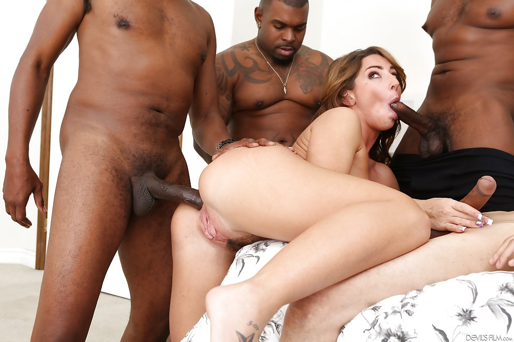 Mandy Muse Interracial Anal