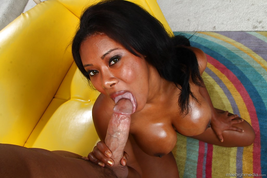 Ebony Caught Sucking Dick