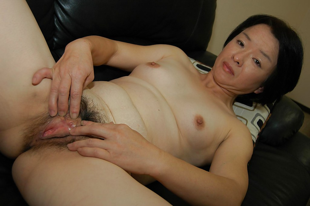asian granny hairy