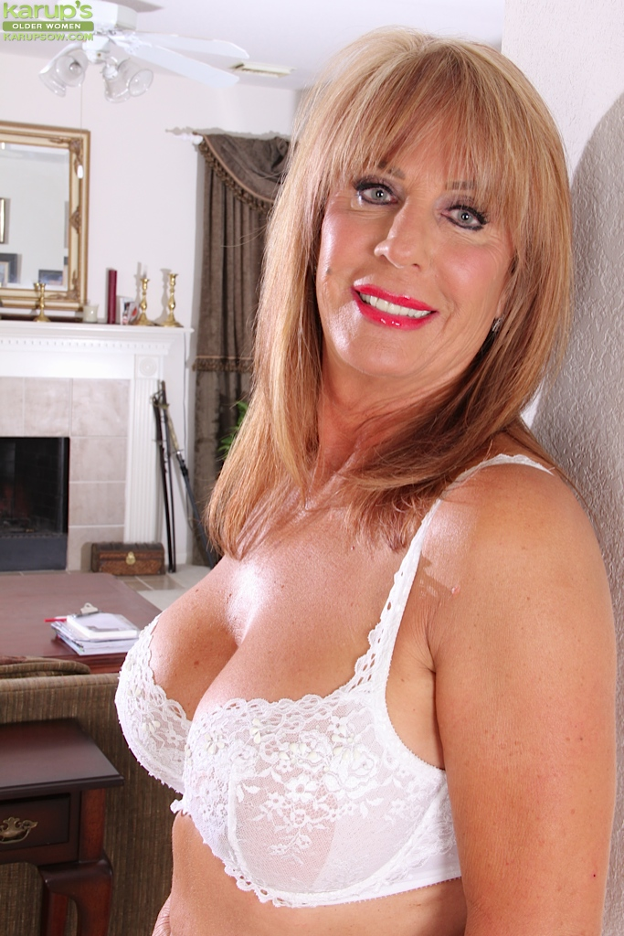 large mature naked breasts