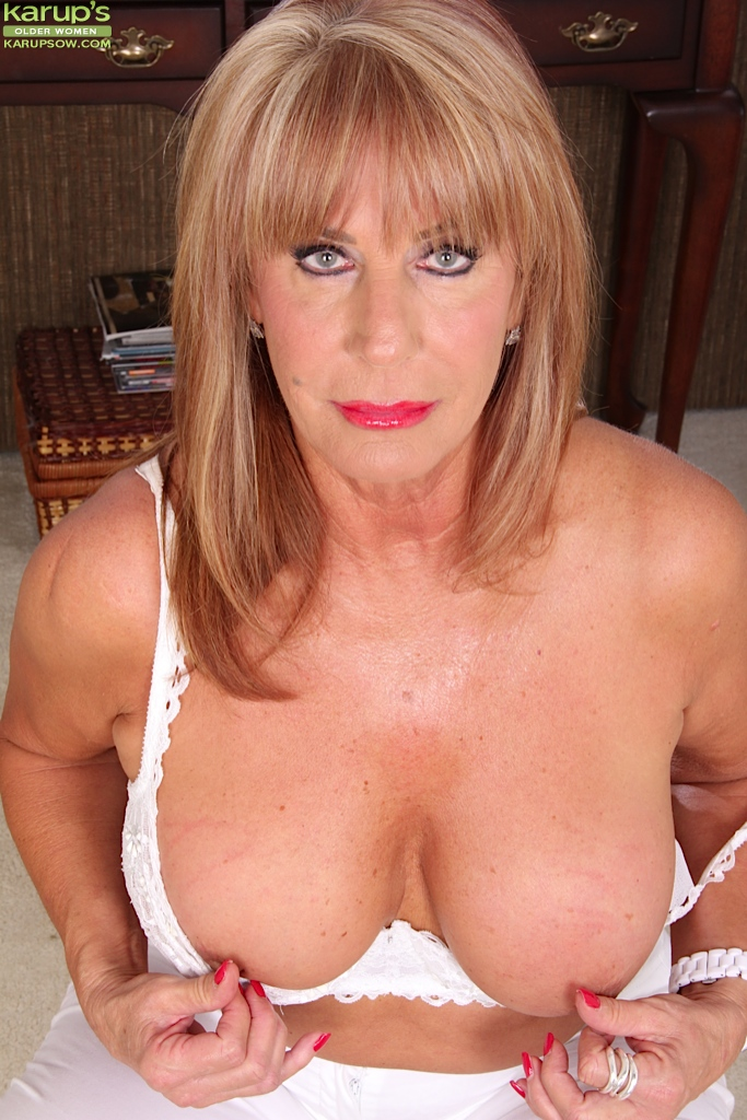 Mature womans breasts